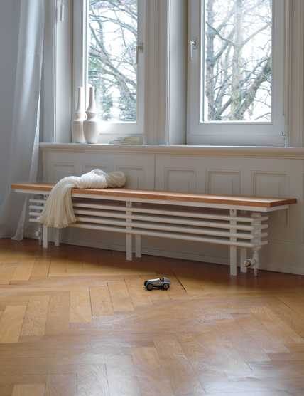Zehnder Radiator Bench