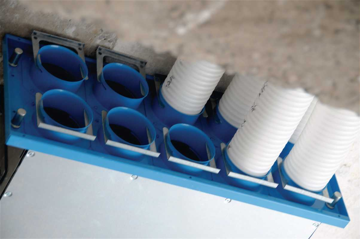ComfoTube ventilation pipe